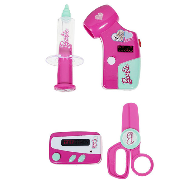Corpa D121A Игровой набор юного доктора Barbie на блистере barbie игровой набор космический замок dpb51