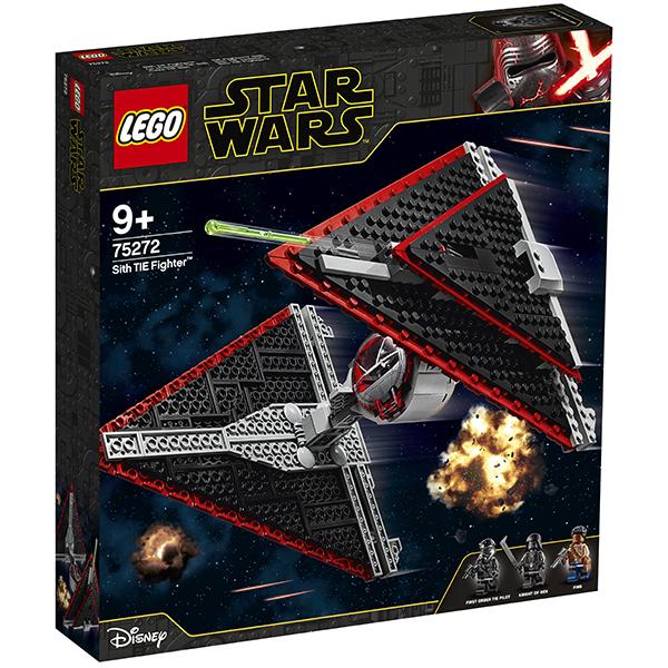 LEGO Star Wars 75272 Конструктор ЛЕГО Звездные войны Истребитель СИД ситхов