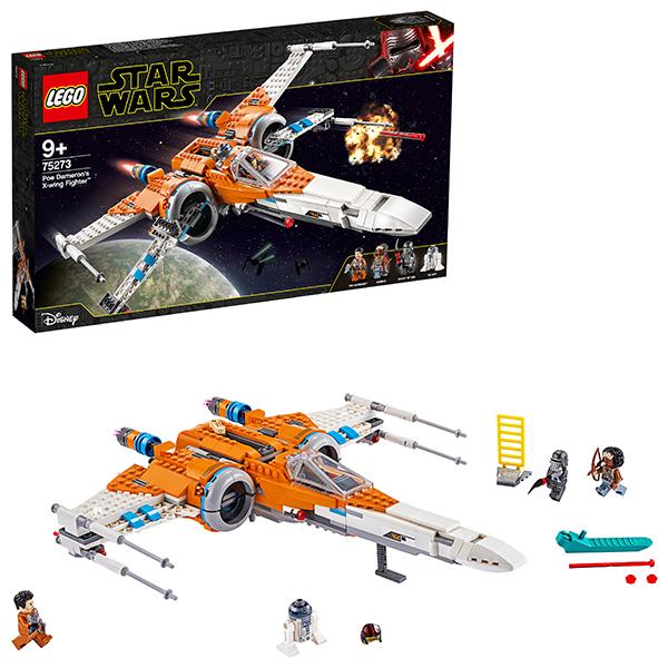 LEGO Star Wars 75273 Конструктор ЛЕГО Звездные войны Истребитель типа Х По Дамерона цена и фото