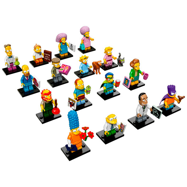 Lego Minifigures 71009 Конструктор Лего Минифигурки LEGO, серия 16
