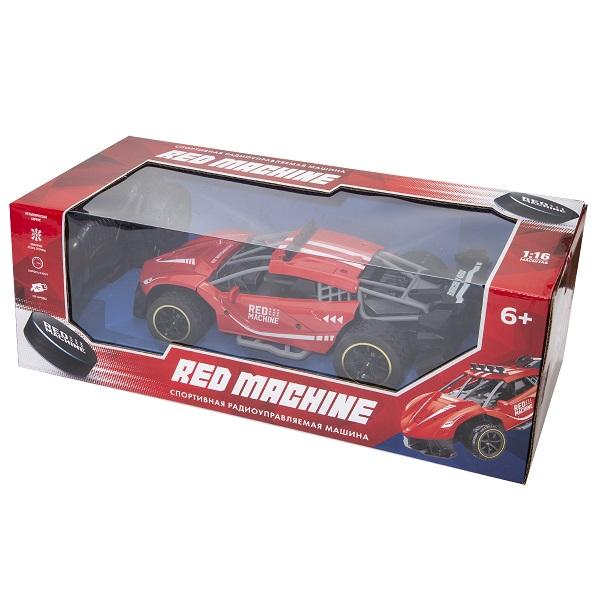 RED MACHINE YK-2052RM Машина в спортивном дизайне Р/У (металлич. корпус), USB-зарядка