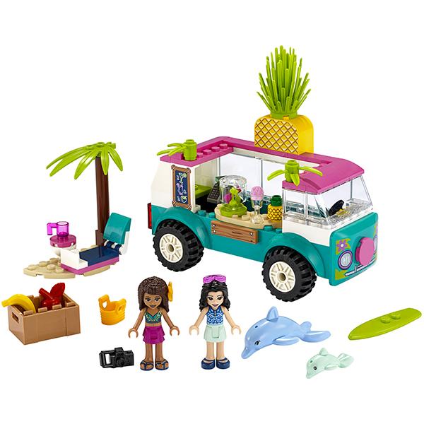 LEGO Friends 41397 Конструктор ЛЕГО Подружки Фургон-бар для приготовления сока