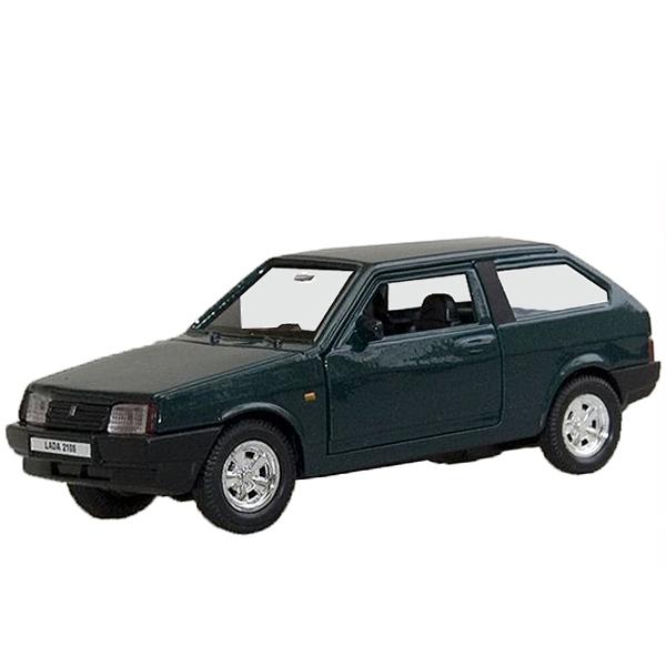 Welly 42377 Велли Модель машины 1:34-39 LADA 2108 автомобиль welly lada 2108 1 34 39 зеленый 42377