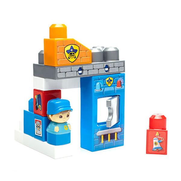 Mattel Mega Bloks DYC56 Мега Блокс Игровой набор Полицейский участок