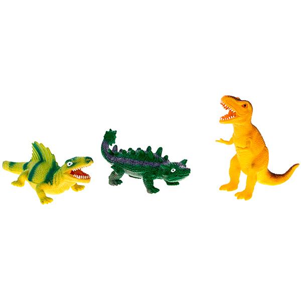 Megasaurs SV12065 Мегазавры Динозавр резиновый с наполнением гранулами малый (в ассортименте)