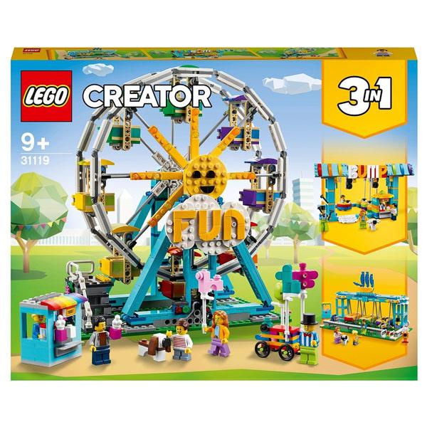 LEGO Creator 31119 Конструктор ЛЕГО Криэйтор Колесо обозрения