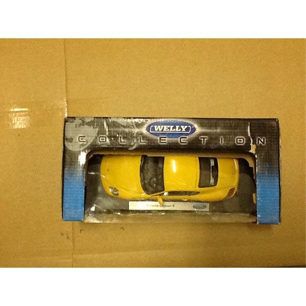Welly 18008_1 Велли Модель машины 1:18 Porsche Cayman S