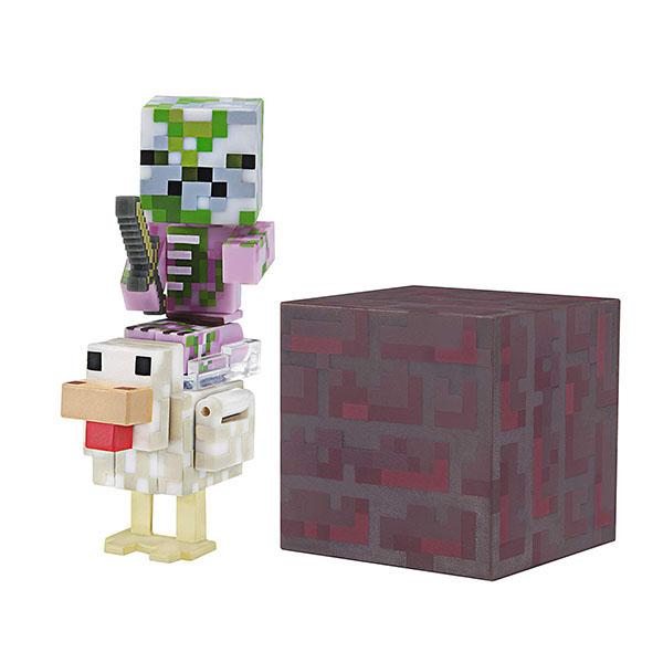 Minecraft 19978 Майнкрафт фигурка Pigman Jockey