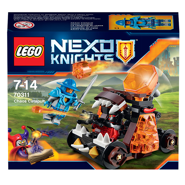 Lego Nexo Knights 70311 Конструктор Лего Нексо Безумная катапульта