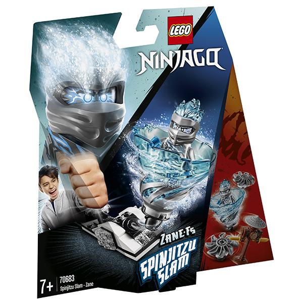 LEGO Ninjago 70683 Конструктор ЛЕГО Ниндзяго Бой мастеров кружитцу - Зейн