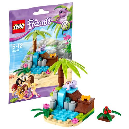 Лего Подружки 41041 Конструктор Райский домик черепахи