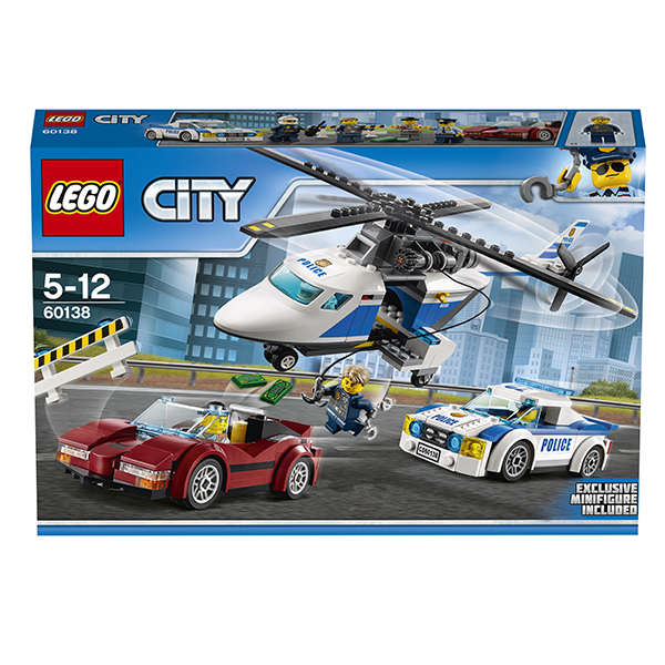 Lego City 60138 Конструктор Лего Город Стремительная погоня