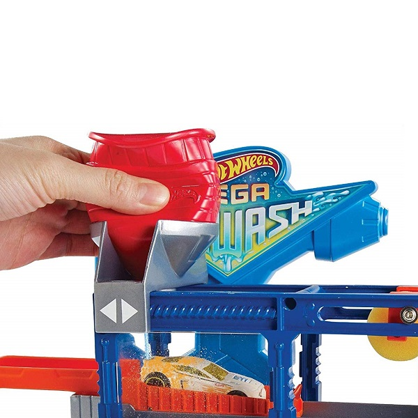 Mattel Hot Wheels FTB66 Хот Вилс Сити МегаАвтомойка