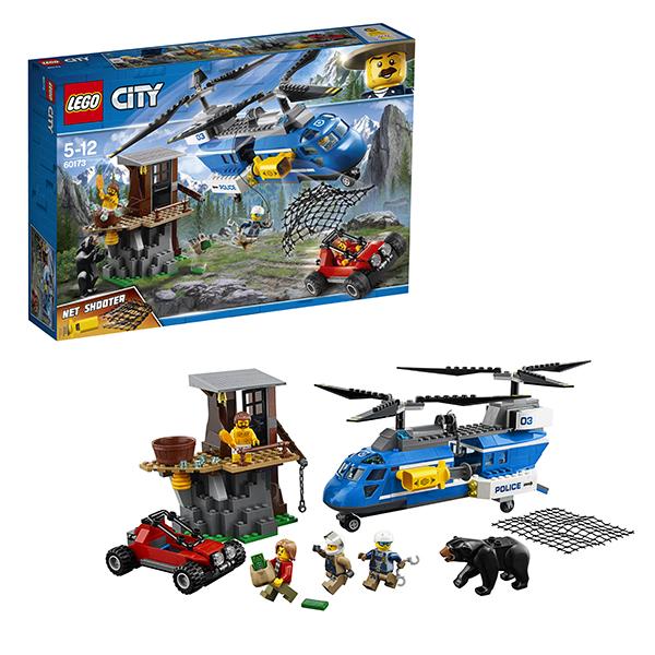LEGO City 60173 Конструктор ЛЕГО Город Погоня в горах конструктор lego city погоня в горах 303 элемента 60173