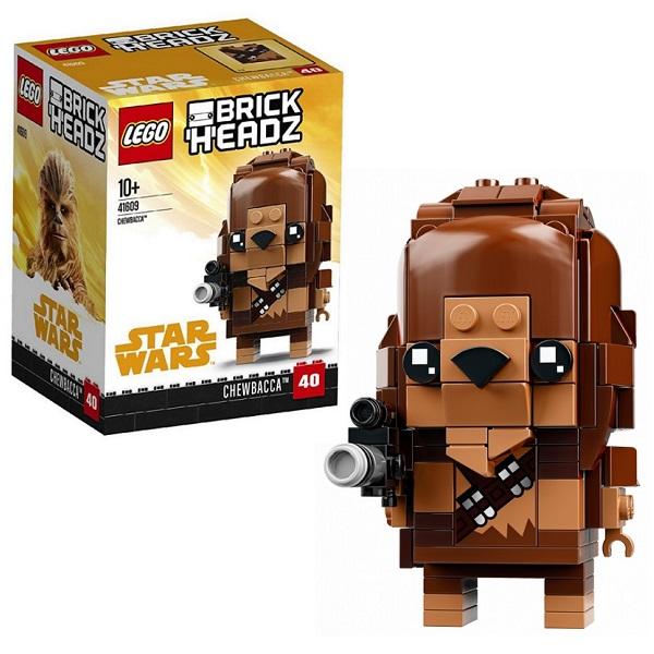 Lego BrickHeadz 41609 Конструктор Лего БрикХедз Чубакка надстройка васко соло 007 1303 для столов соло 005 соло 021