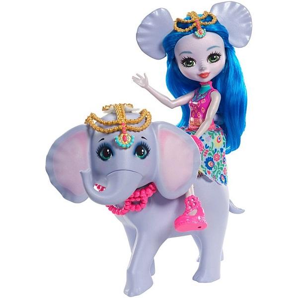 Mattel Enchantimals FKY73 Кукла с большой зверюшкой