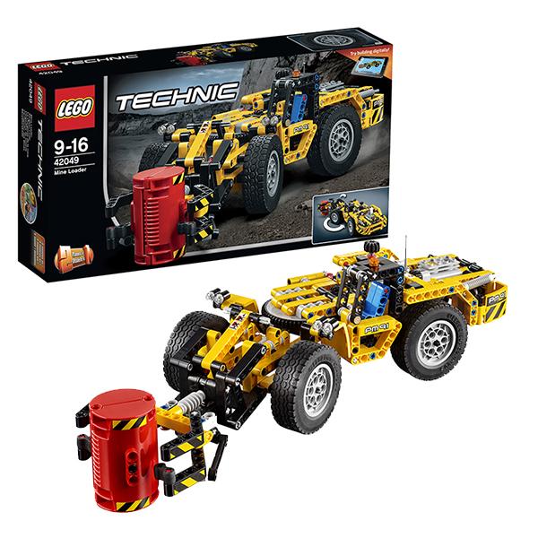 Лего Техник 42049 Карьерный погрузчик