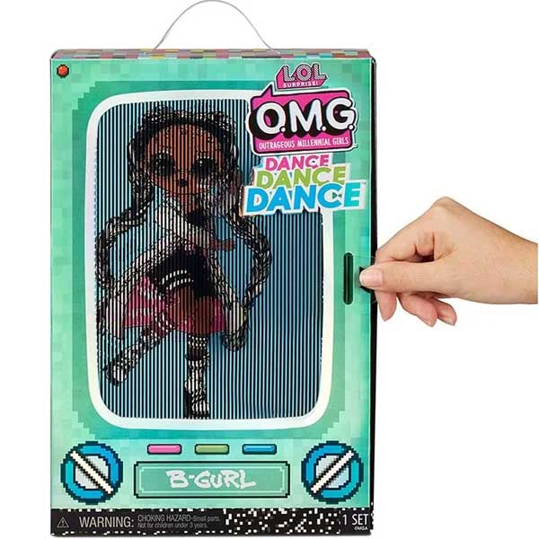 L.O.L. Surprise 117858 Кукла OMG Dance Doll- B-Gurl