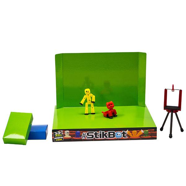 Stikbot TST617A Стикбот Анимационная студия со сценой и питомцем (в ассортименте) stikbot tst617 стикбот анимационная студия со сценой