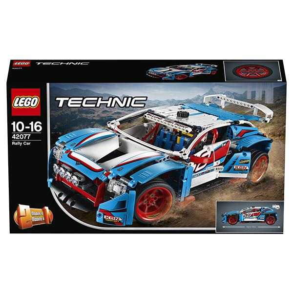 LEGO Technic 42077 Конструктор ЛЕГО Техник Гоночный автомобиль