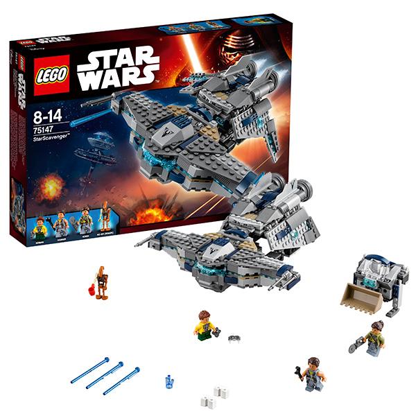 Lego Star Wars 75147 Конструктор Лего Звездные Войны Звёздный Мусорщик lego technic 42084 лего техник погрузчик