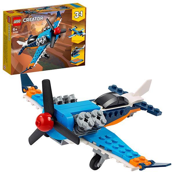 LEGO Creator 31099 Конструктор ЛЕГО Криэйтор Винтовой самолёт стоимость
