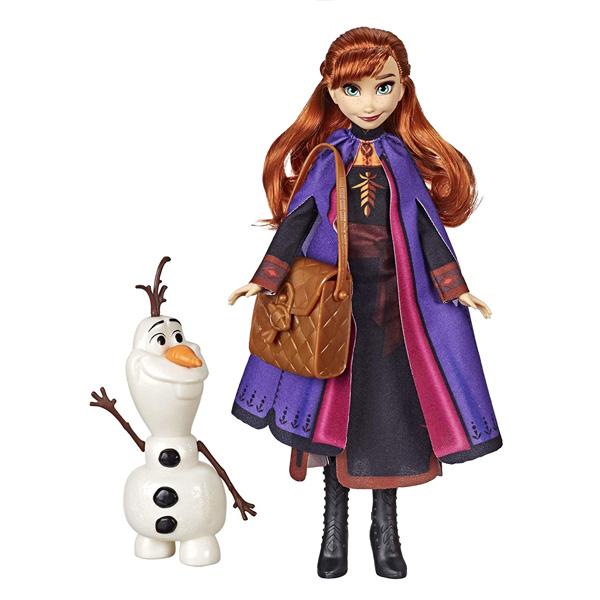 Hasbro Disney Princess E5496E6661 ХОЛОДНОЕ СЕРДЦЕ 2 Анна с аксессуарами