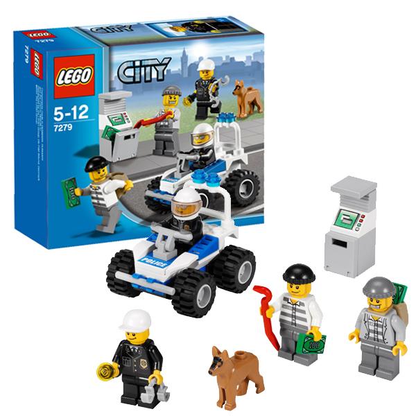 LEGO City 7279 Конструктор ЛЕГО Город Коллекция полицейских минифигурок