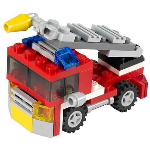Конструктор Лего Криэйтор 6911 Конструктор Пожарная мини-машина