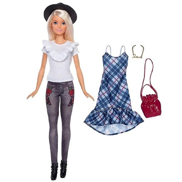 Mattel Barbie FJF68 Барби Игра с модой Куклы & набор одежды (в ассортименте) кукла barbie mattel barbie радужная принцесса с волшебными волосами в ассортименте dpp90
