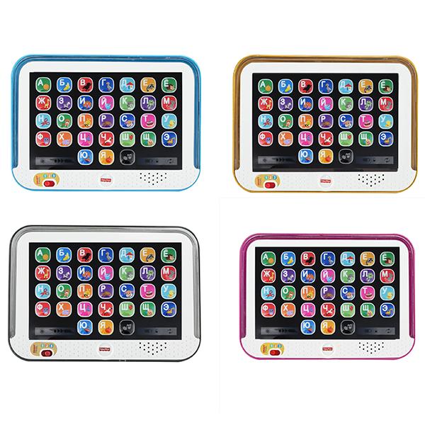 "Mattel Fisher-Price DHY54 Фишер Прайс ""Смейся и учись"" Обучающий планшет с технологией Smart Stages"