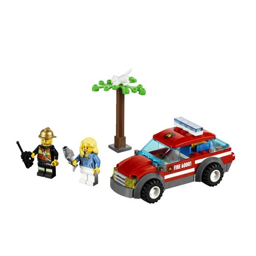 Конструктор Lego City 60001 Лего Город Автомобиль пожарного