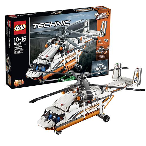 Lego Technic 42052 Лего Техник Грузовой вертолет каталки игрушки plan toys каталка танцующий крокодил