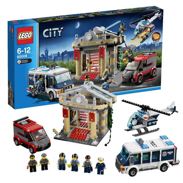 Lego City 60008_1 Конструктор Лего Город Ограбление музея