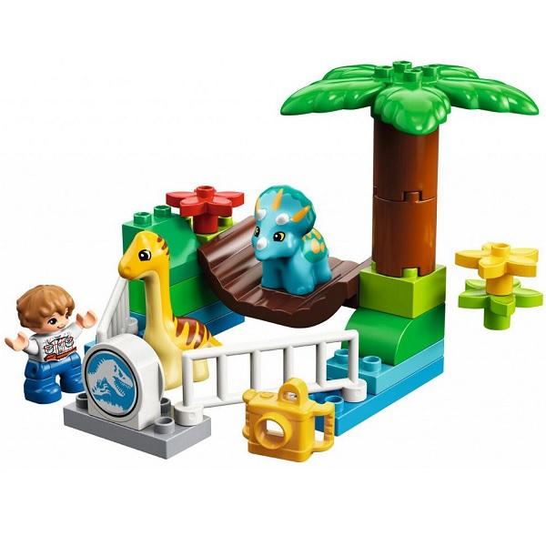Lego Duplo 10879 Конструктор Jurassic World Парк динозавров