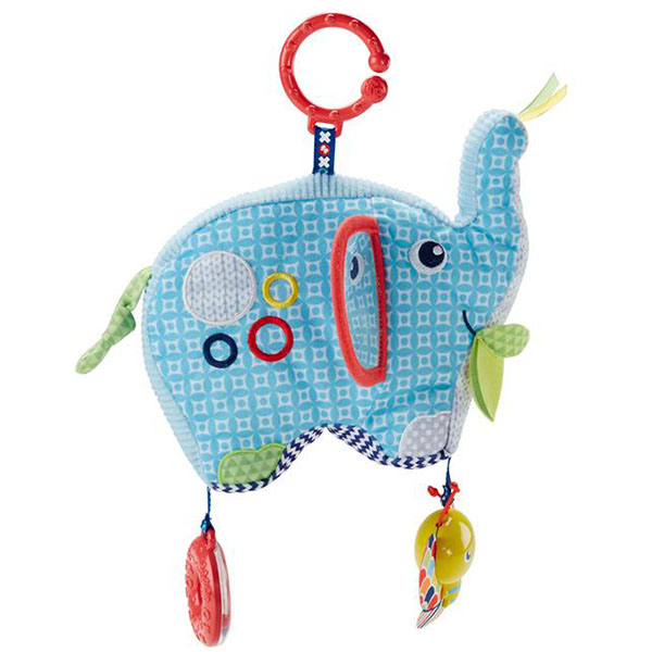 Mattel Fisher-Price DYF88 Фишер Прайс Плюшевая игрушка Слоненок фишер прайс ударяй и играй