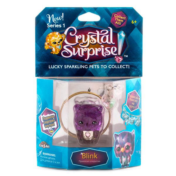 Crystal Surprise 45709 Кристал Сюрприз Фигурка Сова + браслет и подвески