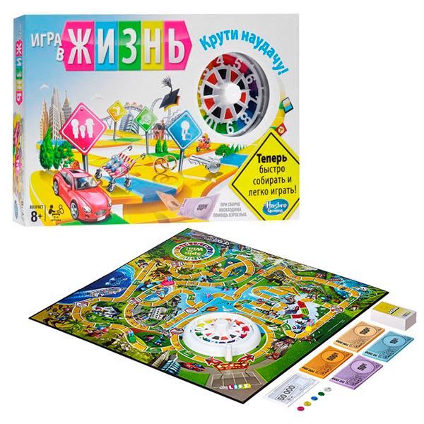 Hasbro Other Games 04000 Настольная игра Игра в жизнь hasbro other games a4626 настольная игра табу