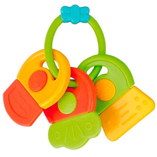 Canpol babies 250930445 Погремушка-прорезыватель ключи, зеленые цифры, 0+,