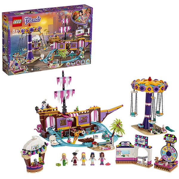 LEGO Friends 41375 Конструктор ЛЕГО Подружки Прибрежный парк развлечений цена