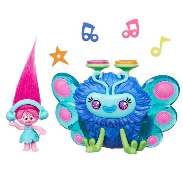 Hasbro Trolls B9885 Тролли Набор Город троллей Диджей Баг