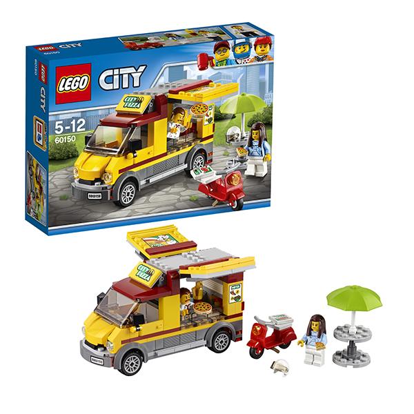 Lego City 60150 Конструктор Лего Город Фургон-пиццерия конструктор bela urban фургон пиццерия 261 дет 10648