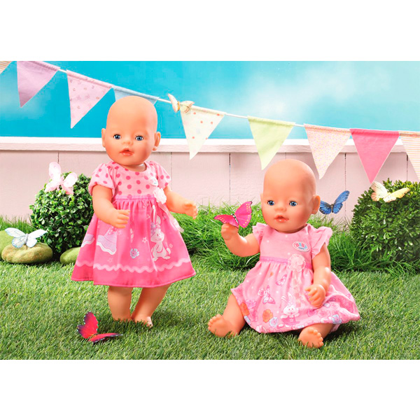 Zapf Creation Baby born 822-111 Бэби Борн Одежда Платья (в ассортименте)