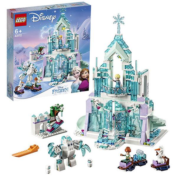 LEGO Disney Princess 43172 Конструктор ЛЕГО Принцессы Дисней Волшебный ледяной замок Эльзы