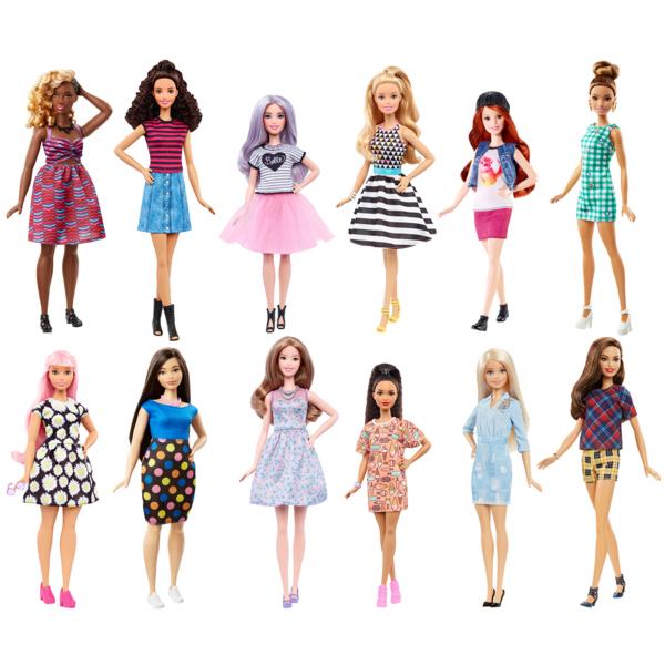 """Mattel Barbie FBR37_9 Барби Куклы из серии """"Игра с модой"""" (в ассортименте)"""
