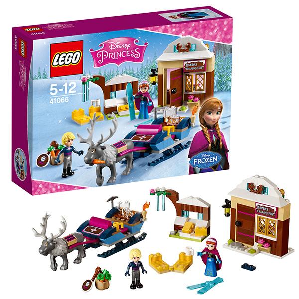 Lego Disney Princess 41066 Лего Принцессы Дисней Анна и Кристоф: прогулка на санях конструктор lego disney princesses анна и кристоф прогулка на санях 174 элемента 41066