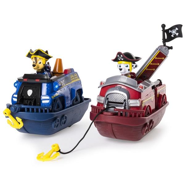 Paw Patrol 16665c Щенячий патруль Игровой набор кораблей Маршала и Чейза