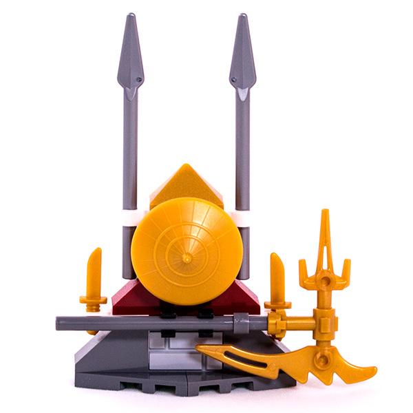 Lego Ninjago 891504 Конструктор Лего Ниндзяго Оружие Weapon Rack