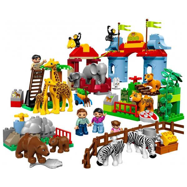 Lego Duplo 5635 Конструктор Большой городской зоопарк
