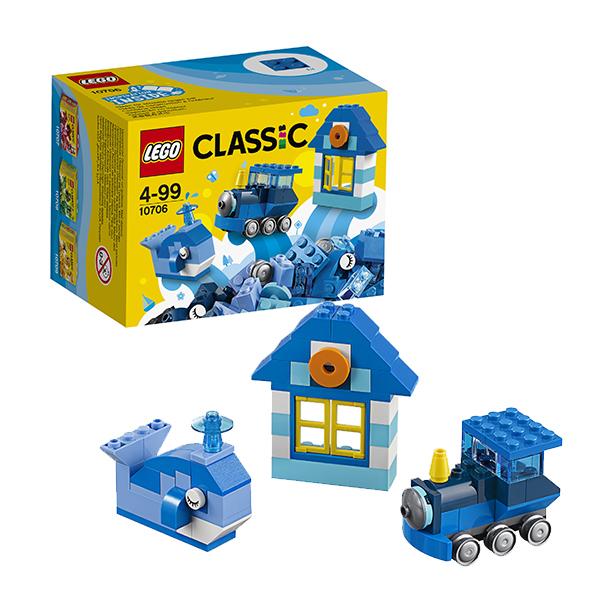 LEGO Classic 10706 Конструктор ЛЕГО Классик Синий набор для творчества lego конструктор классик набор для творчества 10692 от 4 лет